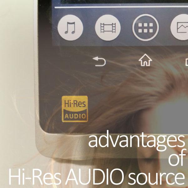 ハイレゾ音源に秘められた5つのメリットと音質の違いがわかる方法