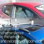 知っておきたい¥0で車内を静音化する方法!ドアバイザーって必要!?