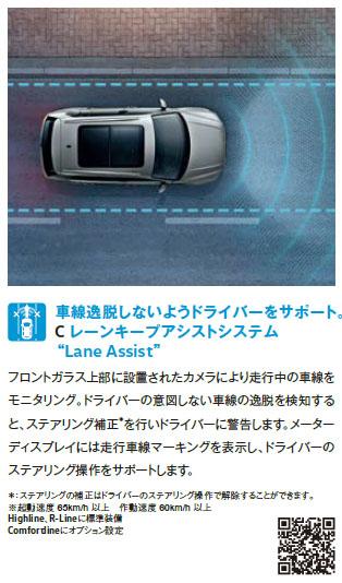 VWの自動運転支援技術:レーンキープアシストシステム