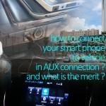車でスマホとカーナビをAUX接続して音楽を聴く方法と6つのメリット